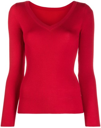 P.A.R.O.S.H. V-Neck Knit Jumper