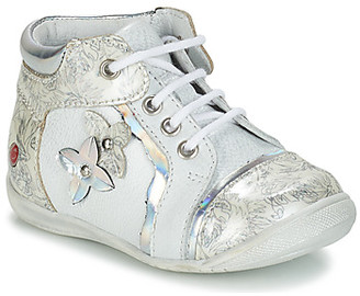GBB SONIA girls's Mid Boots in Silver