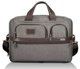 Tumi Men's 'Alpha 2' T-Pass Coated Canvas Briefcase - Grey