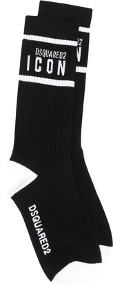 DSQUARED2 ICON ankle socks