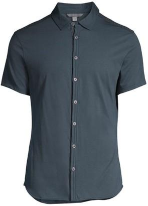 John Varvatos Short-Sleeve Button-Down Shirt