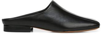 Vince Nida Square-Toe Leather Mules