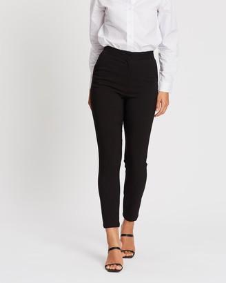 Spurr Women's Black Pants - Slim Leg Pant - Size 6 at The Iconic