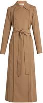 Nina Ricci Tie-waist wool-gabardine trench coat