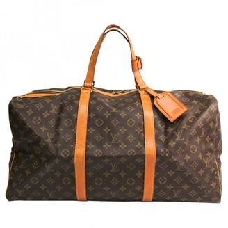 Louis Vuitton Sac souple Brown Cloth Travel bags
