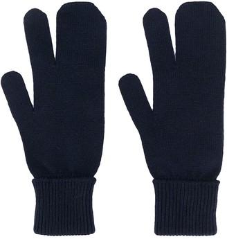 Maison Margiela Three-Finger Gloves