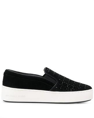 MICHAEL Michael Kors slip-on plimsoll sneakers