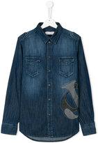 John Galliano denim shirt