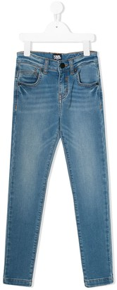 Karl Lagerfeld Paris Slim-Fit Denim Jeans