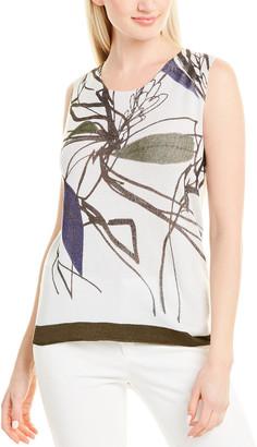 Piazza Sempione Wool & Silk-Blend Top