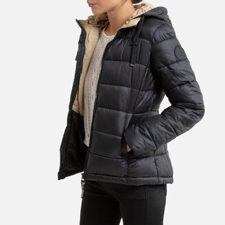 Pepe Jeans Hooded Padded Puffer Jacket