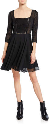 The Kooples Muslin Lace Dress