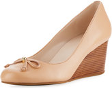 Cole Haan Elsie Bow Wedge Pump, Nude