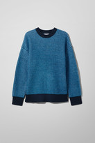 Weekday Ryan Two-Toned Sweater - Blue