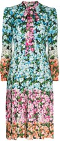 Mary Katrantzou Airmail floral print midi dress