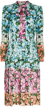 Mary Katrantzou Airmail floral print midi dress