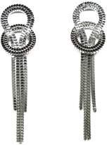 Edel-Heid Kenya Earrings, Drop Chain Earrings Silver Plated