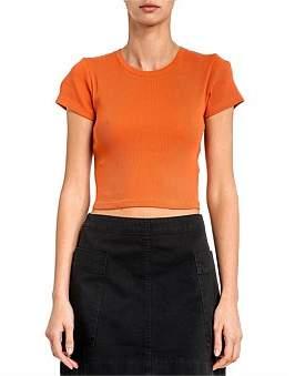 Nude Lucy Kaya Rib Short Sleeve Tshirt
