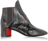 Pierre Hardy Belle Black and Red Patent Leather Ankle Boot