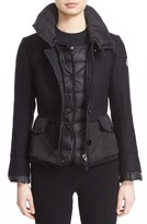 Moncler Women's 'Yvone' Peplum Down Jacket