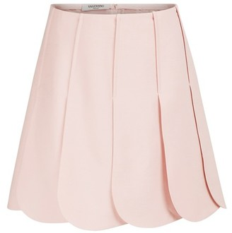 Valentino Pleated mini skirt