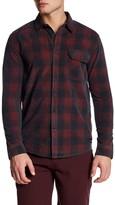 Quiksilver Long Sleeve Plaid Rib Modern Fit Shirt