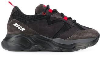 MSGM chunky logo sneakers