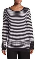 Vince Striped Cashmere Blend Pullover