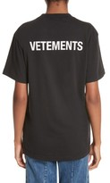 Vetements Women's Staff Basic Logo Tee