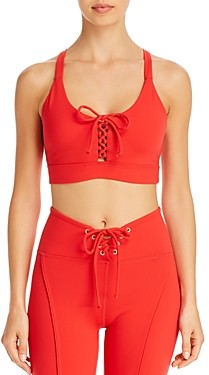 YEAR OF OURS Years of Ours Football Lace-Up Sports Bra