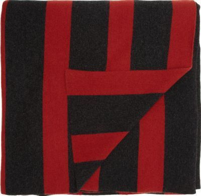 Armand Diradourian Striped Cashmere Throw