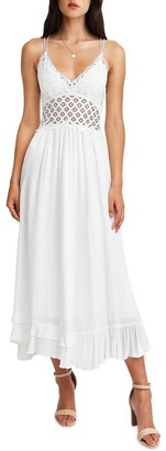 Belle & Bloom Lost In You Maxi Slip Dress