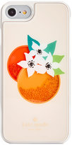 Kate Spade Orange Shaky Gems iPhone 7 Case