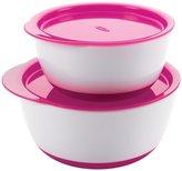OXO Tot Small & Large Bowl Set - Pink