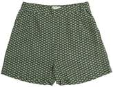 Nice Things Printed Viscose Crepe Shorts