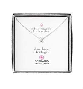 Dogeared Mini Starburst Little Bits Of Happy Boxed Reminder Necklace