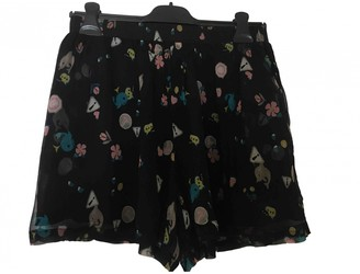 Roseanna Navy Silk Shorts