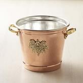 Ruffoni Historia Hammered Copper Round Wine Bucket