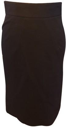 Diane von Furstenberg Black Cotton Skirt for Women
