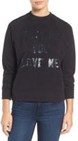 Rebecca Minkoff Embellished Sweatshirt