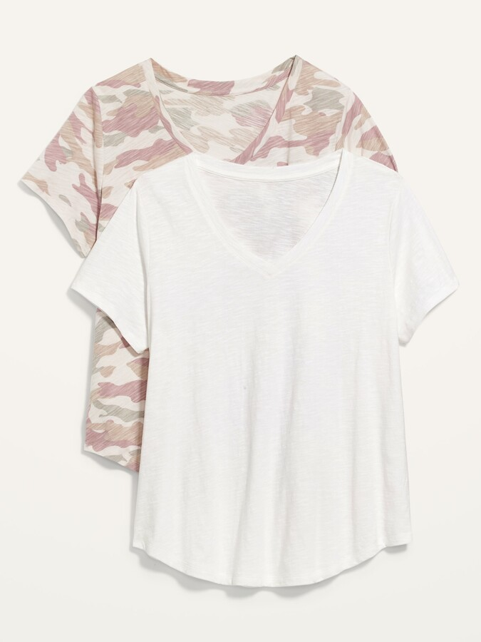 Thumbnail for your product : Old Navy EveryWear Slub-Knit Tee 2-Pack for Women