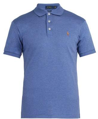 Polo Ralph Lauren Slim-fit Cotton Polo Shirt - Mens - Blue