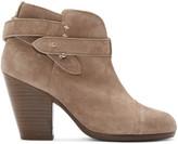 Rag & Bone Grey Suede Harrow Boots
