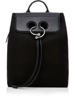 J.W.Anderson Pierce Canvas And Leather Backpack