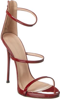 Giuseppe Zanotti Strappy Patent Sandal