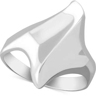Essentials Sculpted Ring in Fine Silver-Plate
