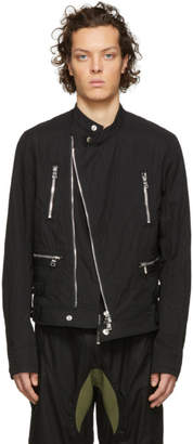 Balmain Black Cotton Jacket