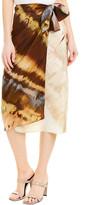 Max Mara Silk Wrap Skirt