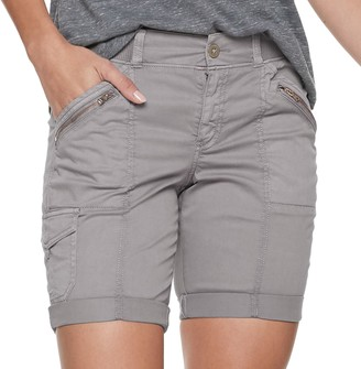 Petite SONOMA Goods for Life Utility Cuffed Bermuda Shorts