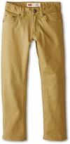 Levi's Kids Kids 511tm Sueded Pants (Little Kids) (Dress Blues) Boy's Casual Pants